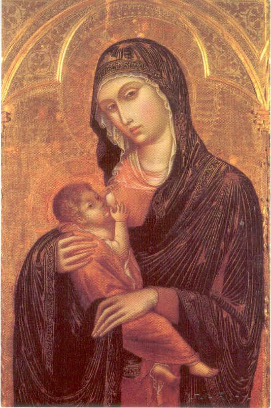 Virgen de la Leche Bernabé de Módena, s. XIV S. I. Catedral MURCIA