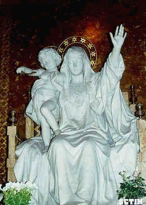 Virgen con el Niño en Basil. Sta. Maria la Mayor